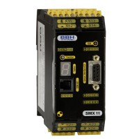 SMX 11 HI compact safety control with Safe Motion (4 x High-Side 2A semi conductor outputs)
