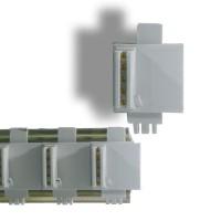 Connecteurs T-bus sous tension (gris)