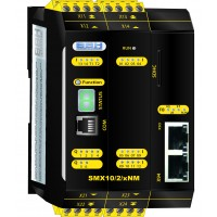 SMX10/2/xNM compact safety control without safe motion with communication module