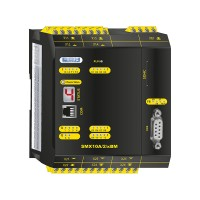 SMX10A/2/xBM compact safety controller without safe motion with analog processing and communication module