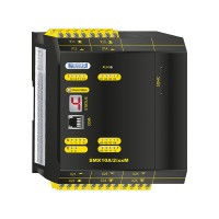 SMX10A/2/xxM compact safety controller without safe motion with analog processing and communication module