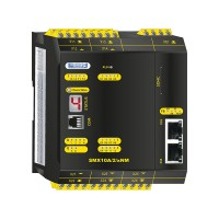 SMX10A/2/xNM  compact safety controller without safe motion with analog processing and communication module