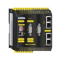 SMX 12/2/DNM Compact control with safe motion and communication module