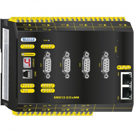 SMX12-2/2/xNM Compact control with safe motion