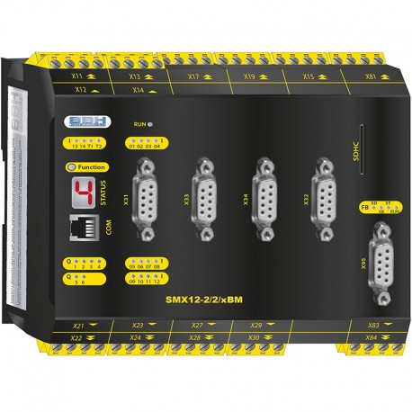 SMX 12-2/2/xBM Compact control with safe motion