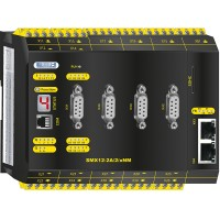 SMX12-2A/2/xNM Compact control with safe motion, analog option and communication module
