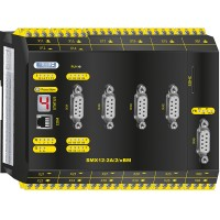 SMX12-2A/2/xBM Compact control with safe motion, analog option and communication module