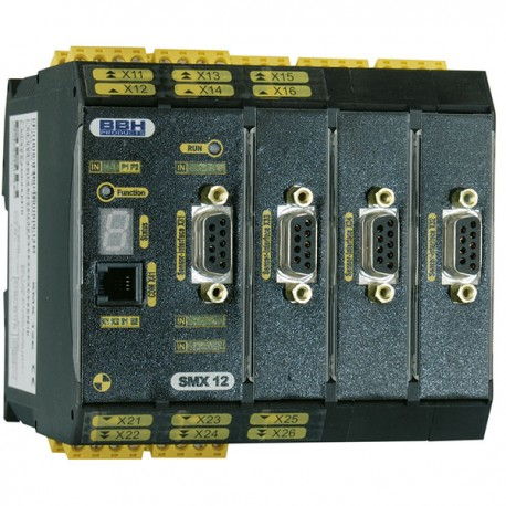 SMX 12-2oE compact controller with Safe Motion (Advanced Encoder) 3 encoder interfaces